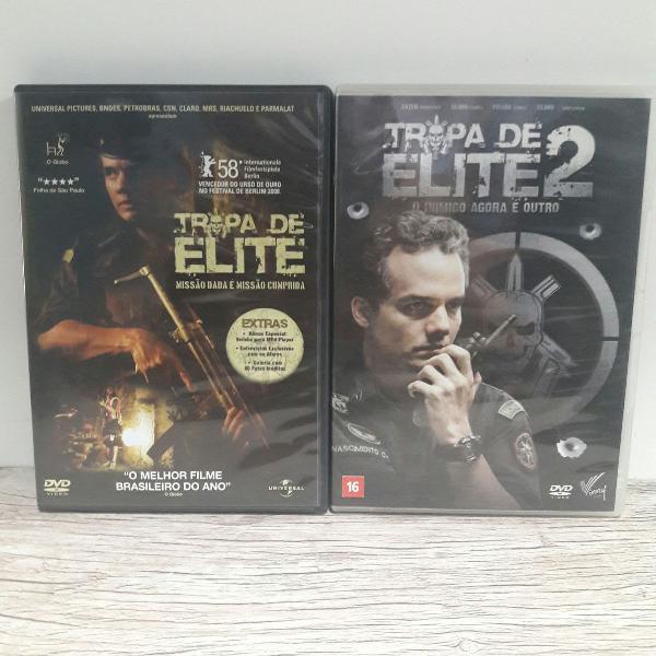 Tropa de elite 1 e 2