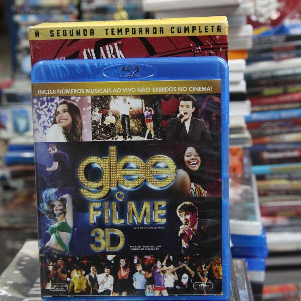 Blu-ray 3d + blu-ray glee o filme