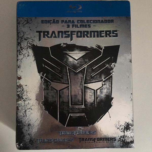 Blu ray box transformers