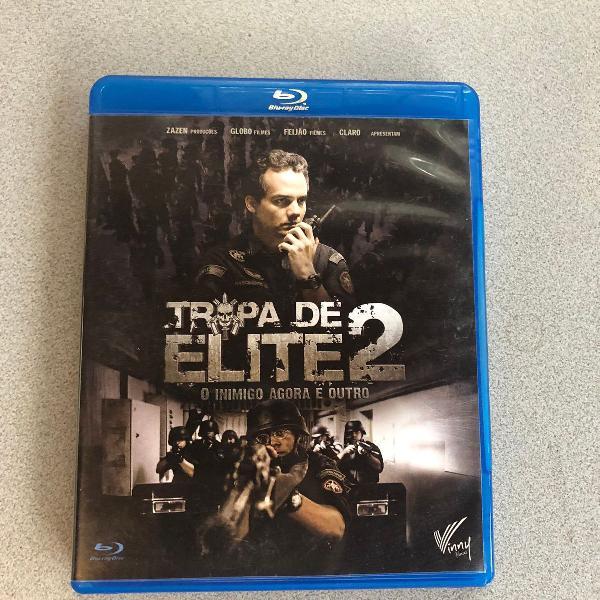 Blu-ray filme tropa de elite 2