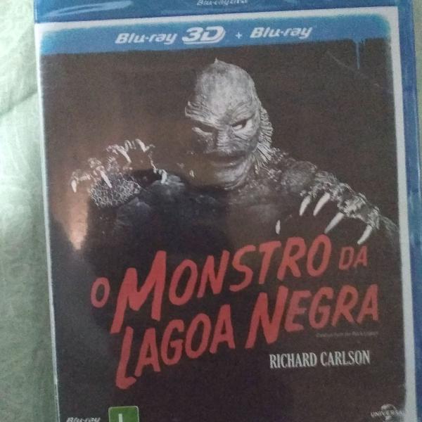 Bluray o monstro da lagoa negra 2d e 3d