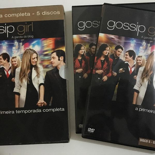 Box gossip girl 1ª temporada completa
