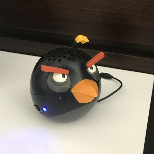 Caixa de som portátil angry birds