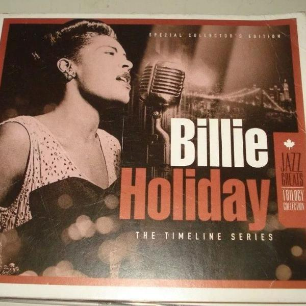 Cd coletânea billie holiday the timeline series