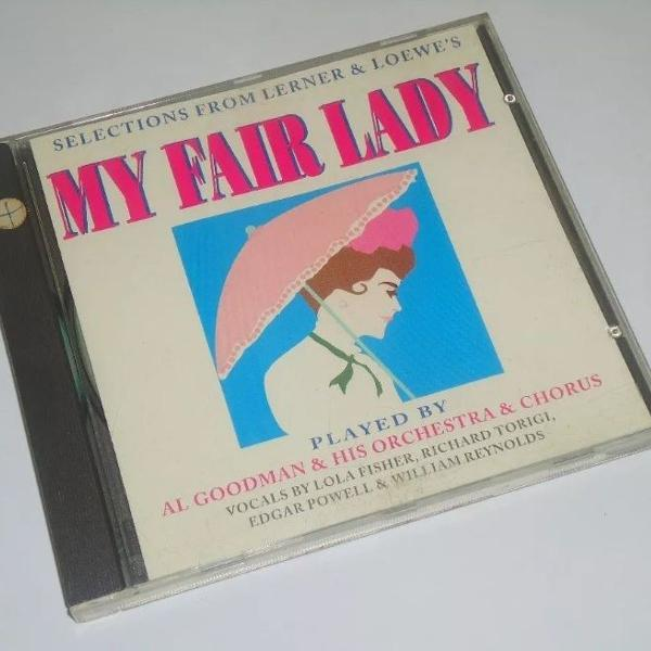 Cd my fair lady al goodman and his orchestra and chorus