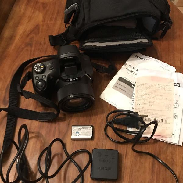 Câmera sony hx300