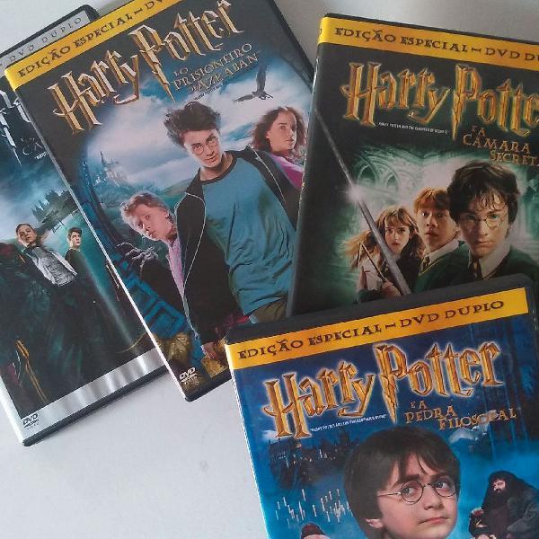 Coleção harry potter - 4 filmes (edição dupla)