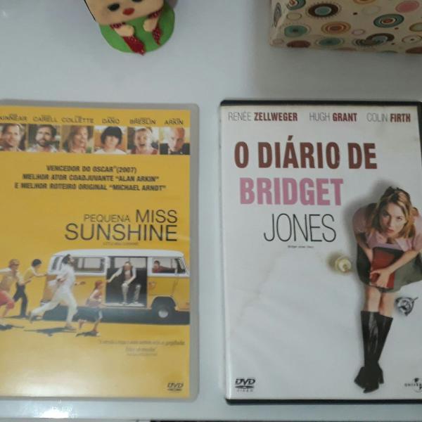 Dois filmes pequena miss sunshine e o diário de bridget