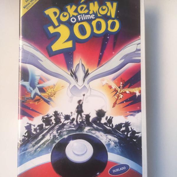 Fita vhs pokémon o filme 2000