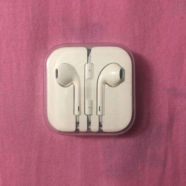 Fone de ouvido original apple (earpods)