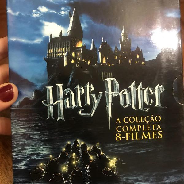 Harry potter blu-ray - coleção anos 1 ao 7 parte 1 e 2