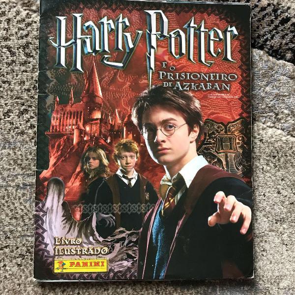 Harry potter e o prisioneiro de azkaban álbum
