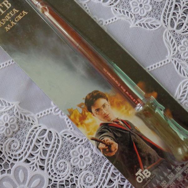 Harry potter - varinha caneta e marcador