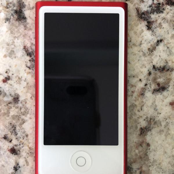 Ipod nano red edition (7 geração)