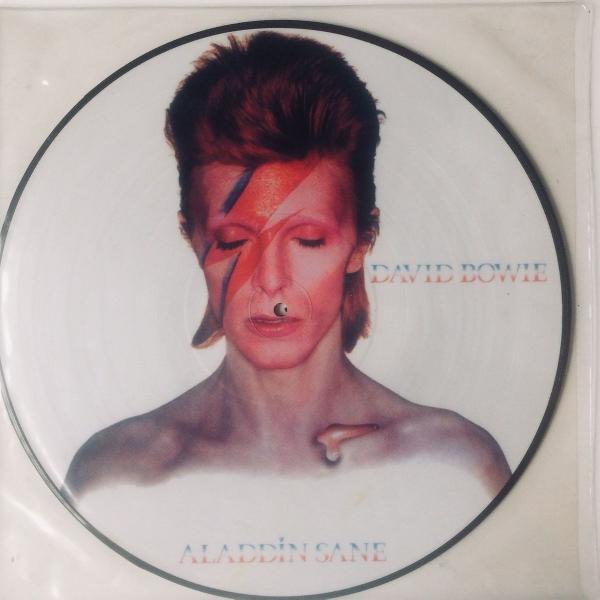 Lp vinil picture vinyl david bowie aladdin sane