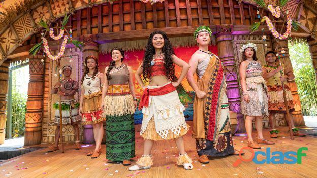 Moana cover o show musical festas e eventos infantil