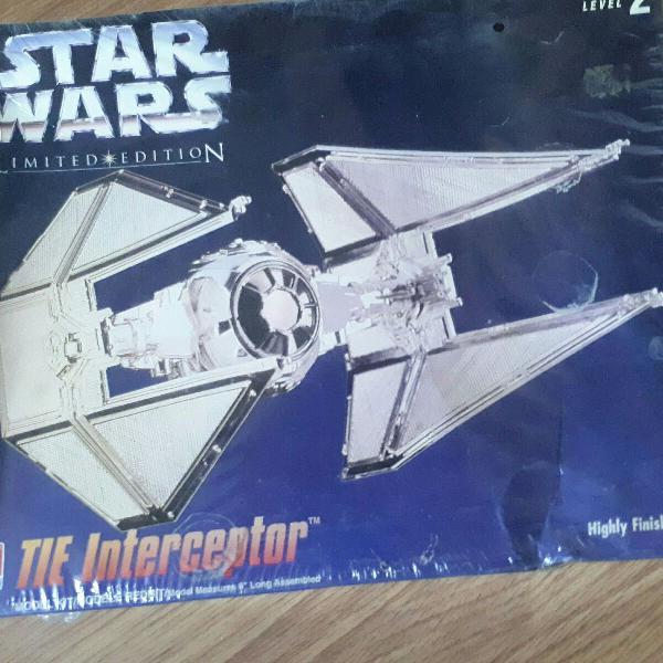 Nave star wars tie interceptor edição limitada de