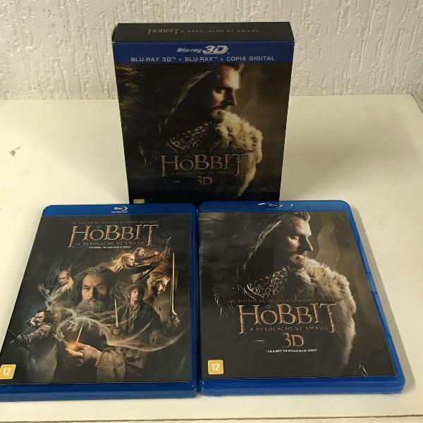 O hobbit a desolação de smaug bluray 3d