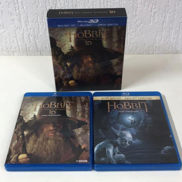O hobbit - uma jornada inesperada bluray 3d