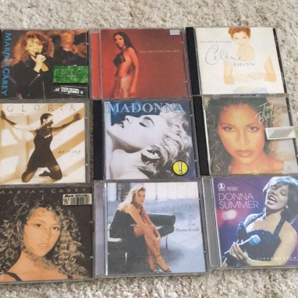 Pacotão cd cantoras