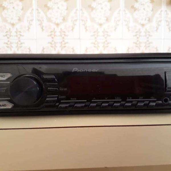 Radio media player automotivo pioneer mvh-078ub usb mp3 car