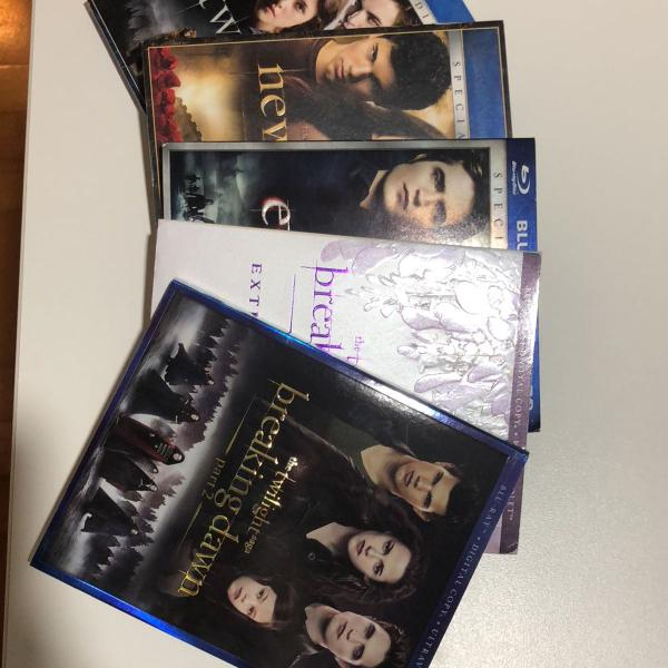 Serie crepusculo blu ray