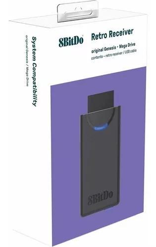 8bitdo m30 retro receiver receptor bluetooth p/ mega drive!
