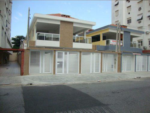 Casa Nova Sobreposta Térrea A Venda Em Santos