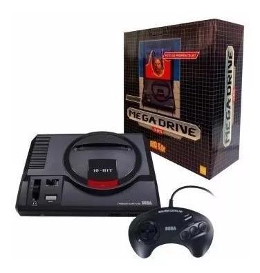 Console mega drive edição limitada com 2 joystick original