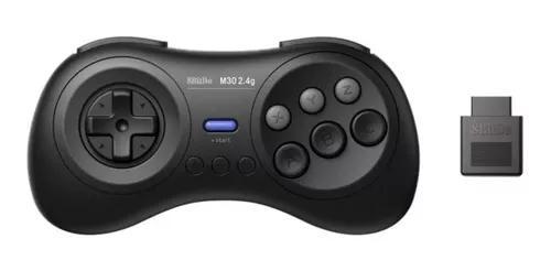Controle 8bitdo m30 wireless + adaptador m30 original