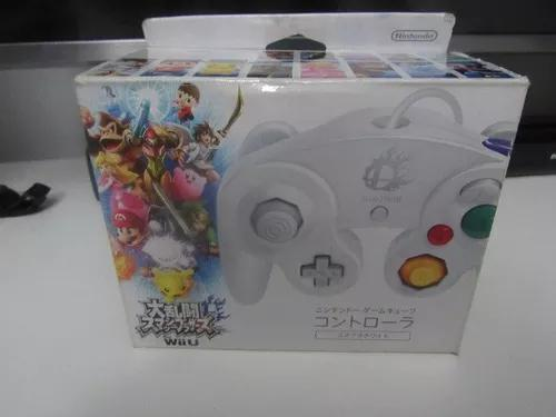 Controle branco game cube - smash brothers