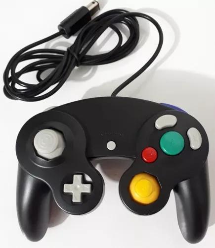 Controle de game cube gamecube wii nintendo novo joystick