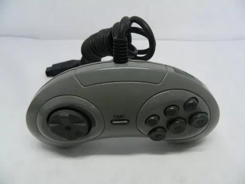 Controle original para mega drive - original tectoy 6