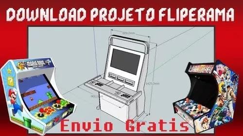 Fliperama arcade projetos multijogos