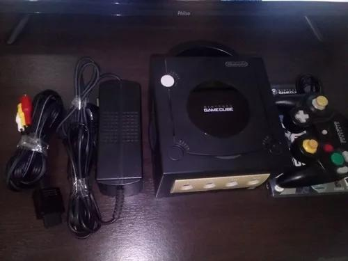Nintendo gamecube destravado usado