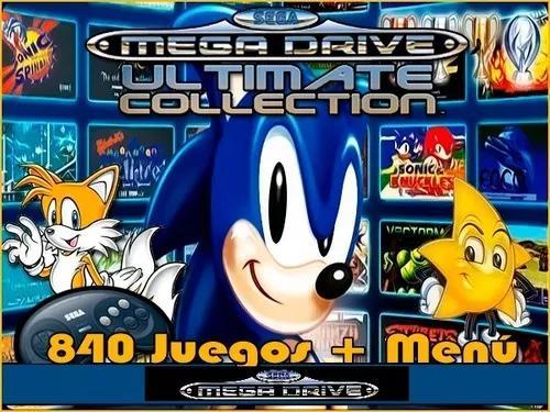 Portable sega megadrive classics 840 jogos
