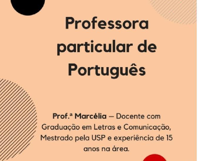Professora particular de português - zona sul e jardins -