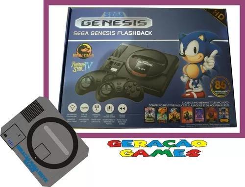 Sega genesis flashback hd classic mega drive