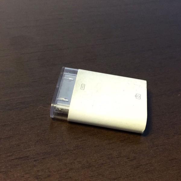 Adaptador usb ipad e iphone para câmera