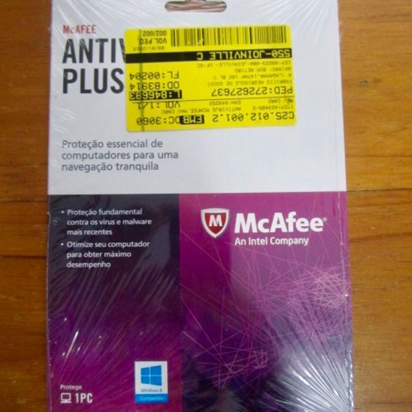 Antivirus plus mcafee