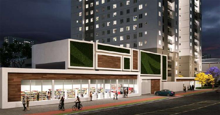 Apartamento com 2 quartos à venda, 38 m² por r$ 189.000
