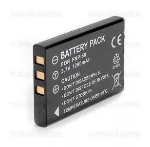 Bateria np-60 para fuji finepix 50i, 401, f401, f410, f601