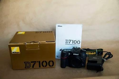 Camera nikon d7100 corpo usada com 44k.