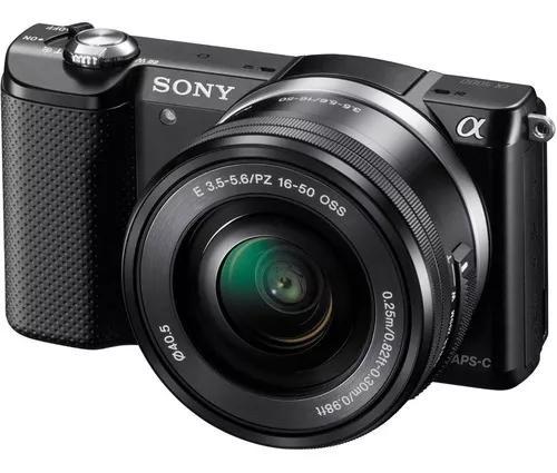 Camera sony alpha a5000 nova com nota fiscal