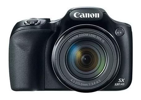 Câmera digital canon powershot sx530 hs c/ nota fiscal