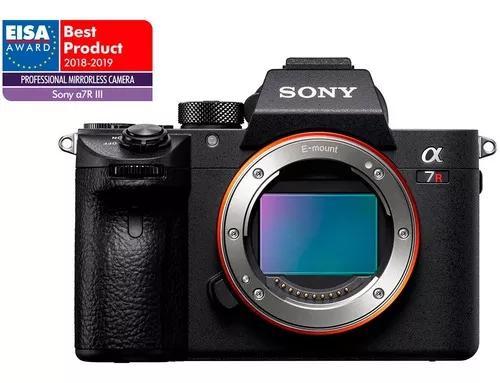 Câmera digital sony alpha 7riii (corpo) full frame 42.4