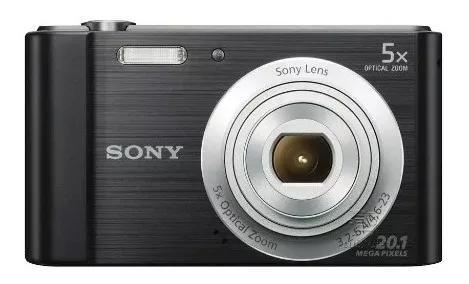 Câmera digital sony cybershot dsc-w800 20.1mp zoom óptico