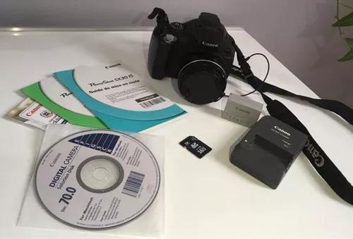 Câmera fotográfica cânon sx30is s