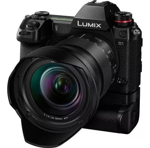 Câmera fotográfica panasonic lumix dc-s1 c/ lente 24-105