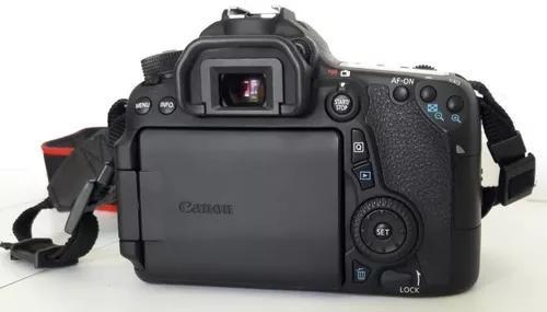 Câmera fotográfica profissional canon mais acessórios